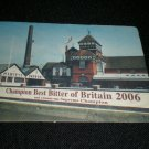Harveys Champion Best Bitter of Britain 2006 Beer Mat