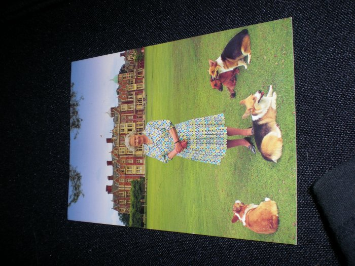 Golden Jubilee portrait of HM The Queen at Sandringham Postcard
