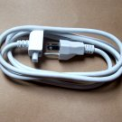 "US AC ADAPTER POWER CORD EXTENSION -6"" feet - for APPLE, MAC, MacBook, adapters, chargers"