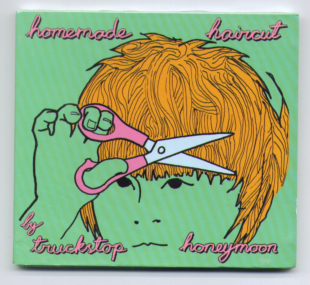 TRUCKSTOP HONEYMOON - HOMEMADE HAIRCUT - CD 2010 14 tracks (brand new)