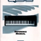 Original ALESIS QS6 REFERENCE MANUAL [1995] Original Manual for Alesis QS6 Synthesizer