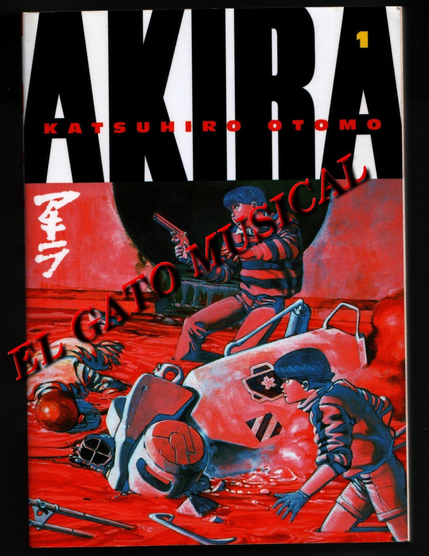 KATSUHIRO OTOMO - AKIRA 1 - Illustration Art Book in English by Kodansha Comics USA Edition 1991