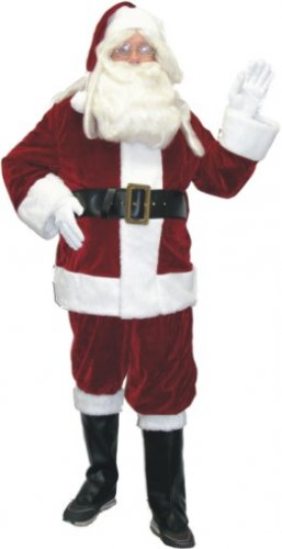 Crimson Red Santa Suit