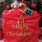 30X36 Velvet santa bag