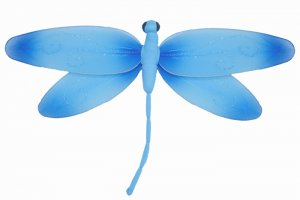"7"""" Blue Swirl Dragonfly - nylon hanging ceiling wall nursery bedroom decor decoration decorations"