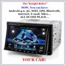 "4.0 Android Car DVD Player ""Knight Rider"""