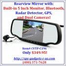 Bluetooth Car Cam-Radar Detector