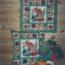Plumples pillow N wall hanging pattern  AUTUMN