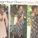 Simplicity pattern 9603 design your own dress sizes 6/10