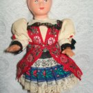 "Vintage German style doll Original Outfit 7 1/2"" tall"