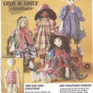 Mccalls crafts pattern  6831 one and only creations Dolls from empty soda bottles