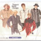 Vogue&#39;s basic design pattern Misses  Couture jacket size 12