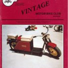 Vintage motor bike magazine Spring 1987 vol.15 no.3