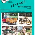 Vintage motor bike magazine Fall 1987 vol.16 no.1