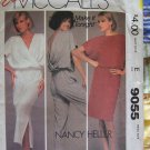 80's Mccalls pattern 9055  dress or jumpsuit  size small