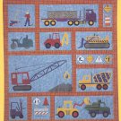 The Country Quilter pattern Under Construction boys trucks