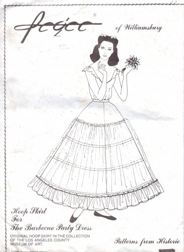 Hoop Skirt Pattern http://www.ecrater.com/p/17949045/hoop-skirt-for-the-barbecue-party
