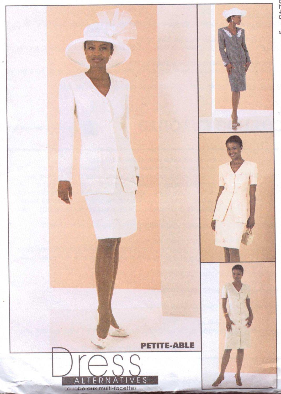mccalls lined coat dress jacket skirt pattern 2024 size 20 24