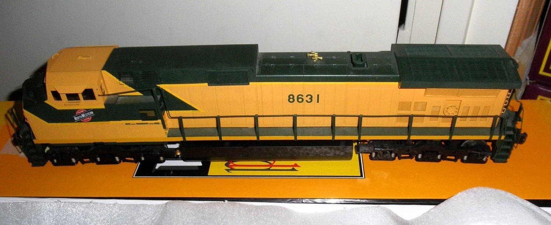 3RD RAIL/SUNSET CHICAGO AND NORTHWESTERN BRASS O SCALE C-449W DIESEL ENGINE OB