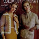 Vintage Columbia Minerva Mohair Knitting Patterns Family