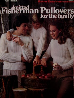 Fisherman Knits Pullover Sweaters Knitting Pattern Family