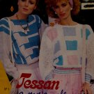 Jessan Cotton Carole Ladies Pullovers Sweaters Knitting Patterns