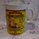 Vintage Watkins Washing Compound Soap Heritage Souvenir Coffee Tea Cup Mug