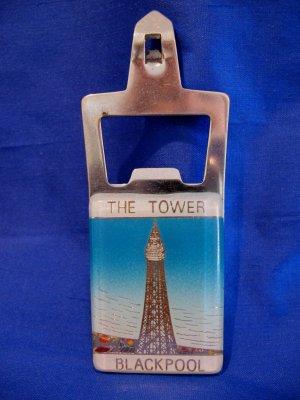 Blackpool Tower Lancashire England UK Ale Beer Bottle Can Opener Souvenir