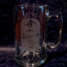 Kokanee Beer Glass Stein Mug Canada Olympics Souvenir Ski Skier