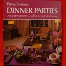 Vintage 1974 Betty Crockers Dinner Parties Cookbook Recipes Collector