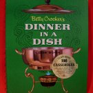 Vintage 1968 Betty Crockers Dinner In A Dish Cookbook Recipes FIRST EDITION