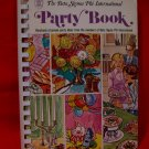 Vintage Beta Sigma Phi International 1973 Souvenir Party Cookbook