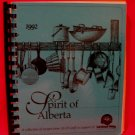 Spirit of Alberta ALCB Staff and United Way 1992 Cookbook Recipes