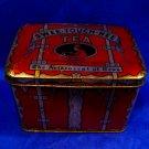 Antique 1913 Paris Expo Tea Tin Swee Touch Nee Orange Pekoe Asian Souvenir