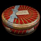 Vintage Peek Freans Biscuits Cookie Tin Christmas Ribbon Souvenir Collector