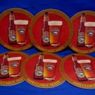 Rickards Honey Brown Beer Coasters Canada Souvenir set of 6
