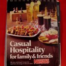 Vintage Nestle Chocolate Desserts Beverages Appetizers 1978 Cookbook Recipes
