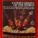 Vintage Famous Dishes of The World International Wina Born Cookbook Recipes
