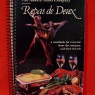 The Alberta Ballet Company Repas de Deux Cookbook Recipes FIRST EDITION