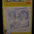 Vintage Aunt Marthas Hot Iron Transfers Horses Deer Pattern