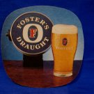 Fosters Draught Ale Lager Beer Coaster Souvenir