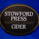 Stowford Press Draught Cider Ale Lager Beer Coaster England UK Souvenir