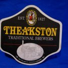 Theakston Brewers Lager Ale Beer Coaster Yorkshire England UK Souvenir