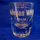 Vintage Captain Morgan White Rum Souvenir Shot Glass