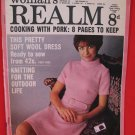 Vintage Feb. 1, 1969 Women's Realm Recipes Knitting Patterns