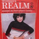Vintage Feb. 8, 1969 Women's Realm Recipes Knitting Patterns