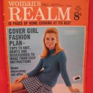 Vintage Feb. 22, 1969 Women's Realm Recipes Knitting Patterns