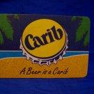 Carib Trinidad Beer Coaster Souvenir