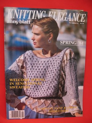 Vintage Anny Blatt Knitting patterns 62 spring and by Chachkys