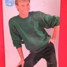 Sirdar Knitting Pattern Pullover Sweater Men's Adult